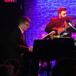 Andrew at the Iridium Jazz Club in New York City with Ed Fast in Conga Bop